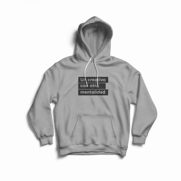 hoodie frase creativo visual